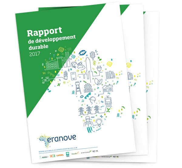 Dernier Rapport de Développement Durable - Groupe Eranove