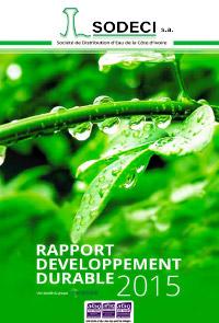 Rapport Développement Durable 2015