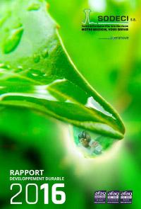 Rapport Développement Durable 2016